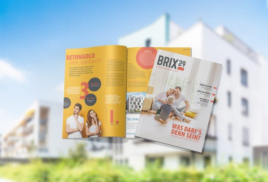 BRIX29 Magazin von APROM Immobilien hilft bei der Suche nach soliden Immobilien-Investments